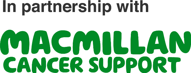 In partnership with Macmillan Cancer Support