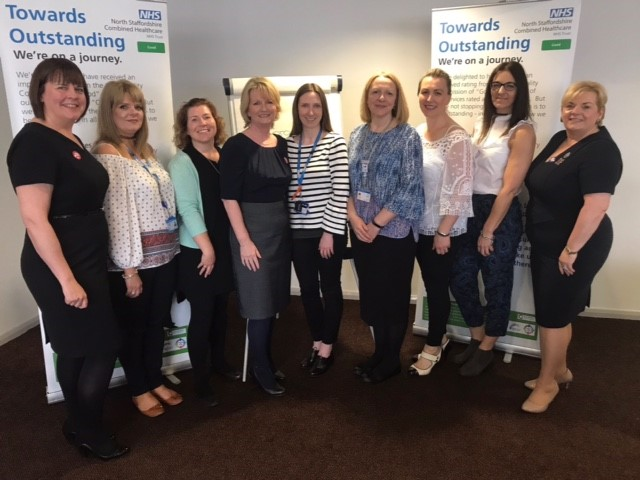 Combined NHS Trust Team and Tommy