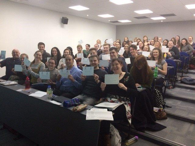 Glasgow Uni students March 2017