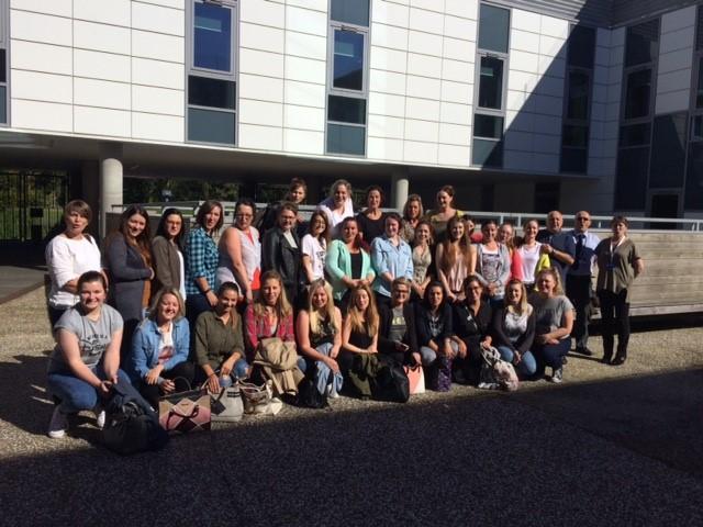 UWS Ayr students September 2016