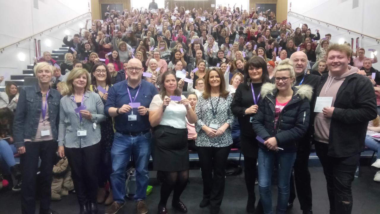 New College Lanarkshire Students