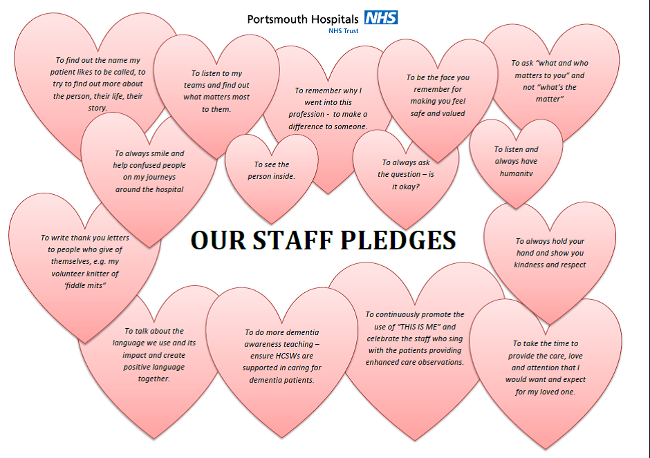 Portsmouth Hospitals NHS Trust, Pledge to Make a Difference