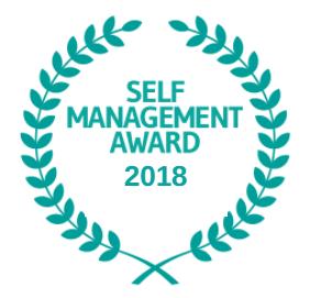 Self Management Awards logo 2018