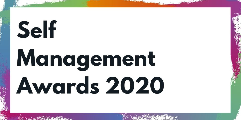 Self Management Awards 2020 graphic
