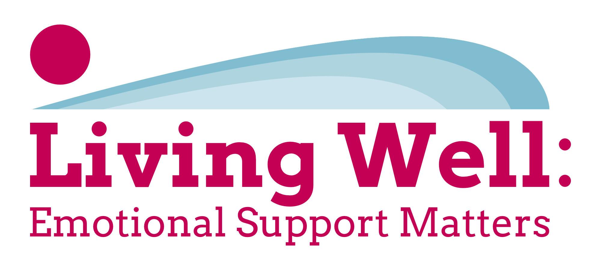 Living Well: Emotional Support Matters logo
