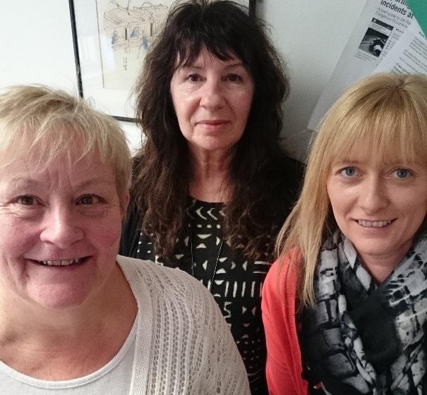 Lorna, Jane and Selina from FDAMH