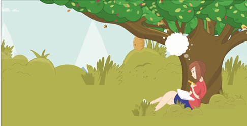 Alliance Dhc Write To Rrecovery Illustration Of Girl Writing Under Tree 2017 Health And Social Care Alliance Scotland ✓ free for commercial use ✓ high quality images. alliance dhc write to rrecovery