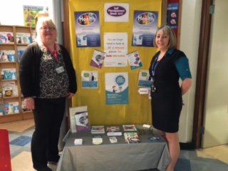 Tayside self management stand