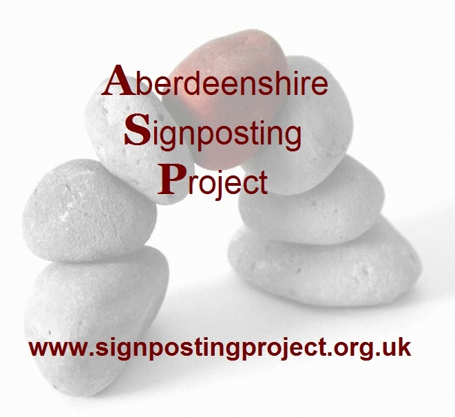 Aberdeenshire Signposting Project members logo