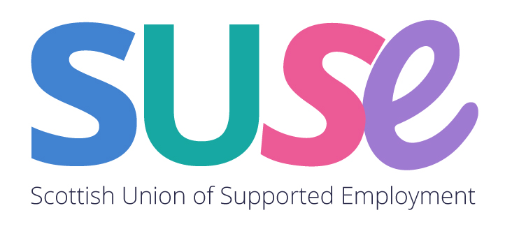 Scottish Union of Supported Employment (SUSE) members logo