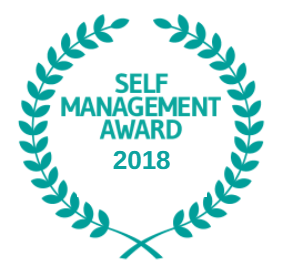 Self Management Award logo 2018