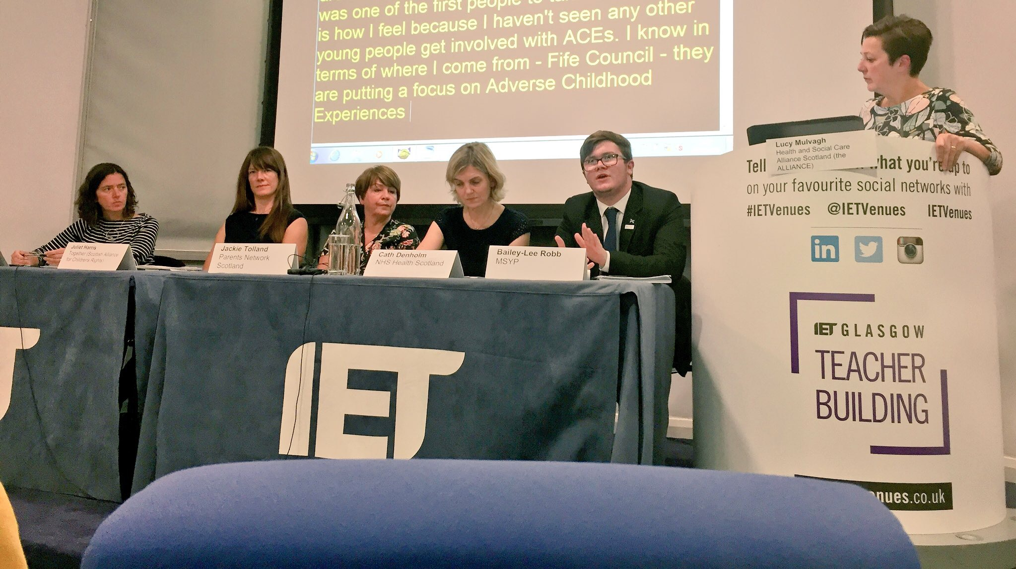 Photo of Resilience Panel