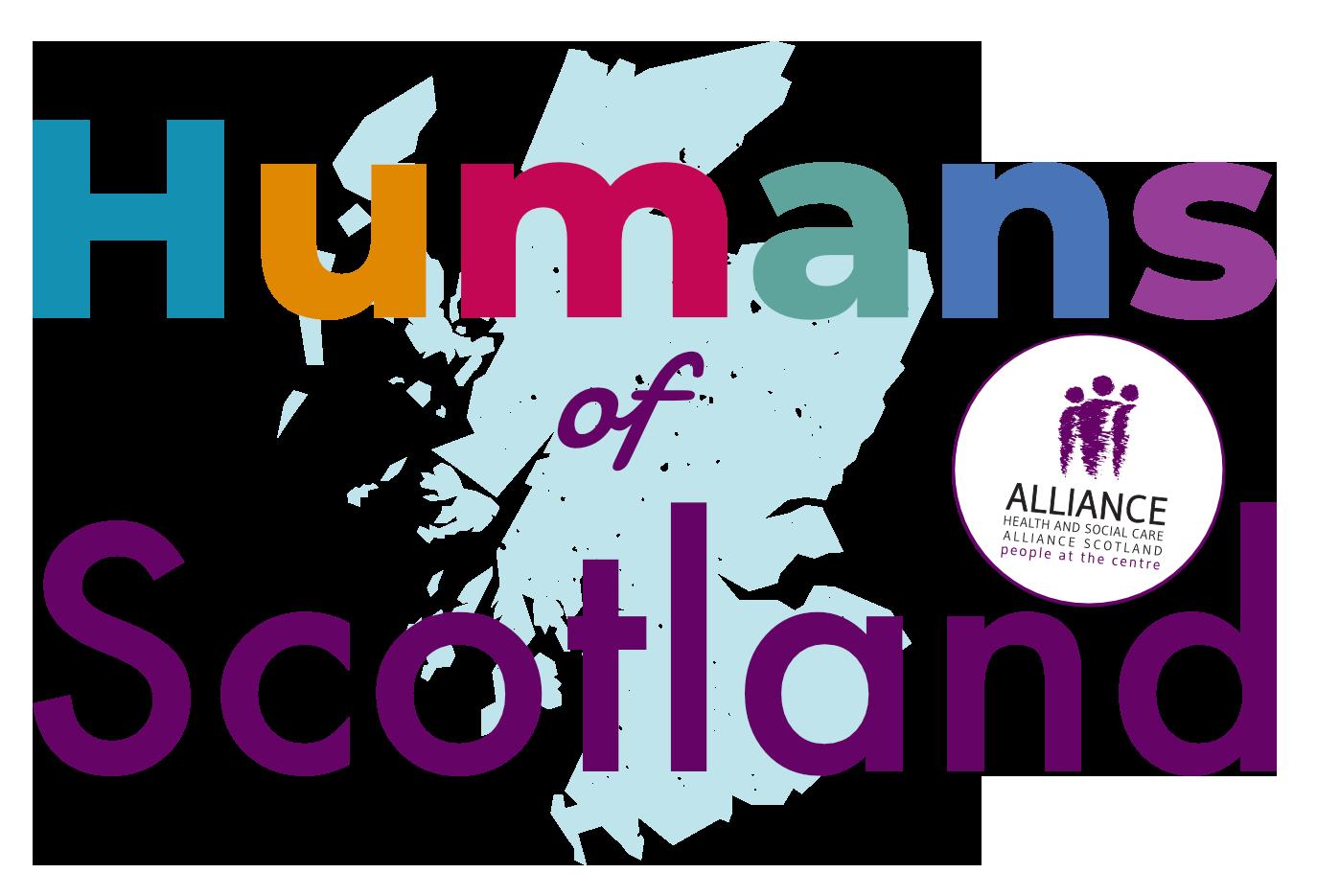 Humans of Scotland logo