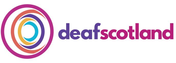 Deafscotland logo