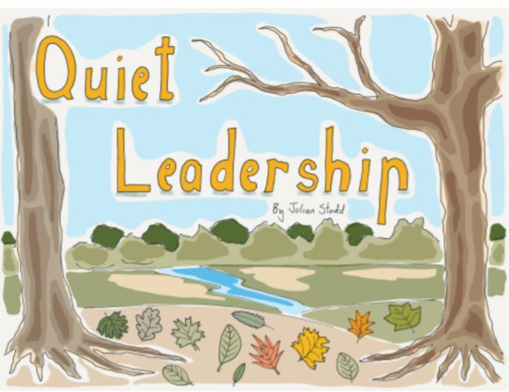 Image with words Quiet Leadership