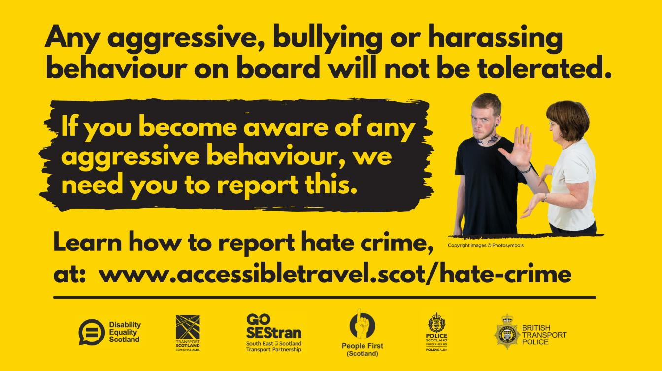 Report Hate Crime poster